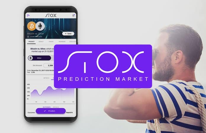 Stox prediction market mobile app ICO
