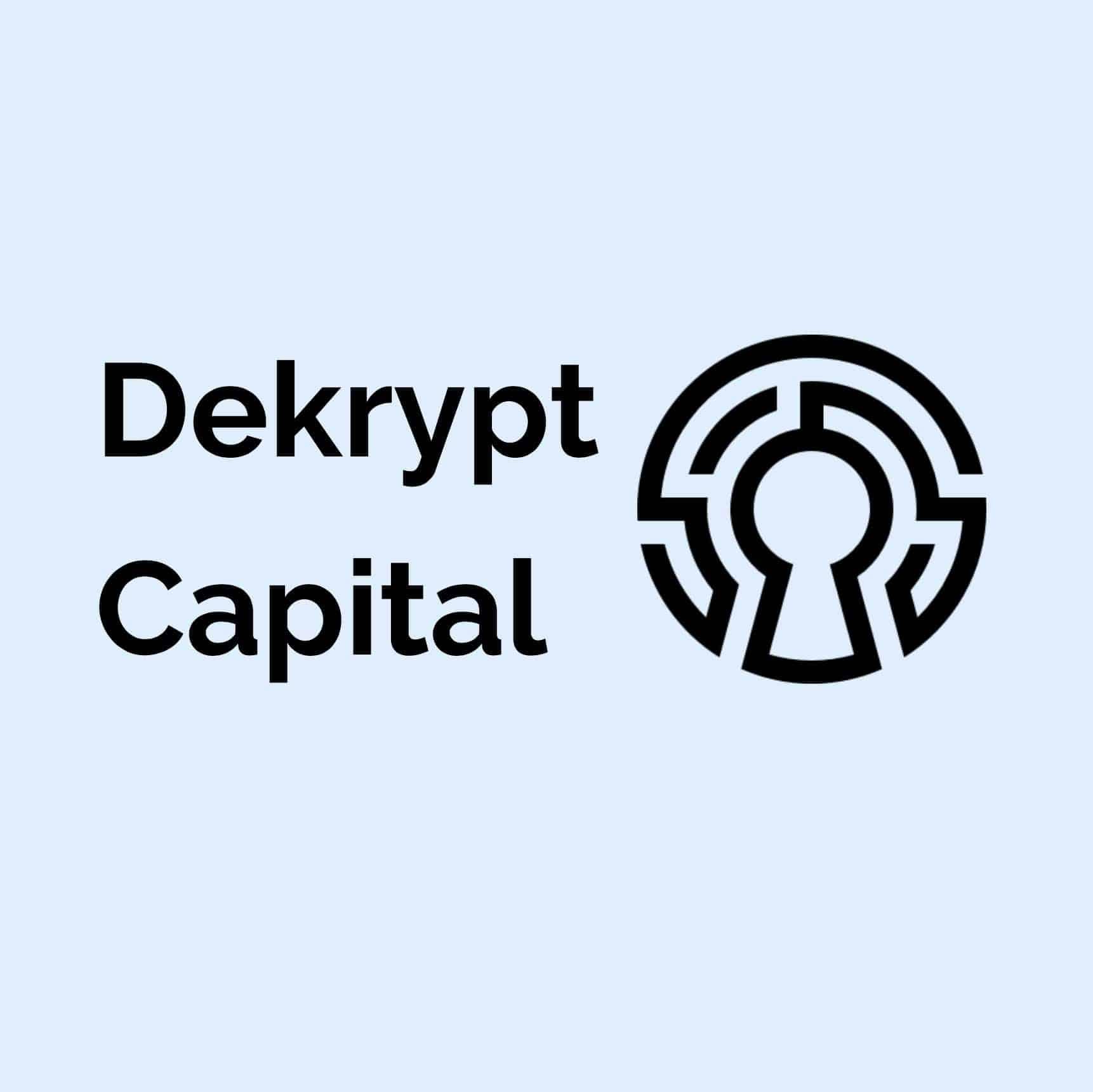 Dekrypt Capital Logo