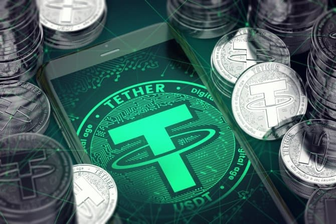 Tether USDT is Crashing. Bitcoin is Skyrocketing and Touched $7000