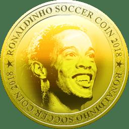 Ronaldinho Coin Logo