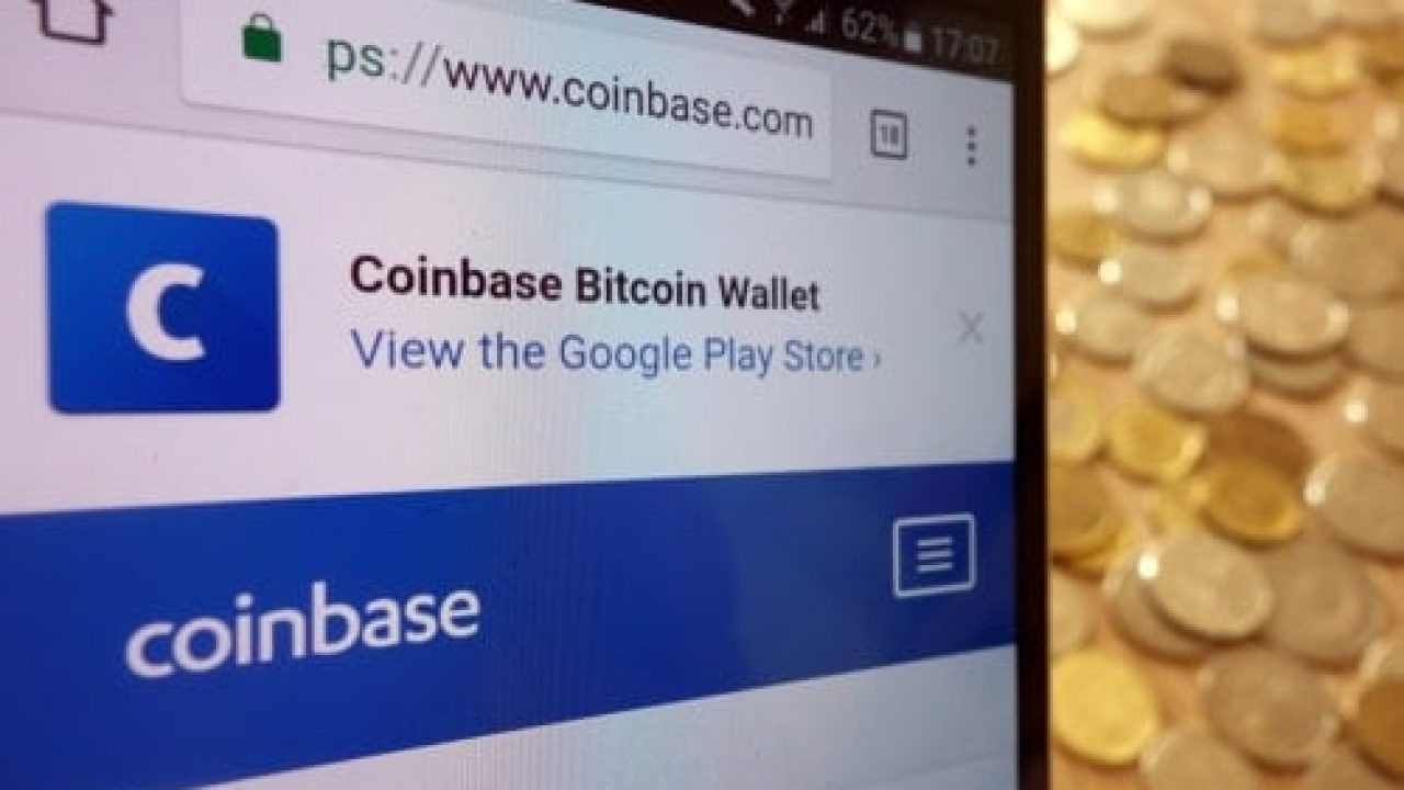 how to store bitcoin on coinbase