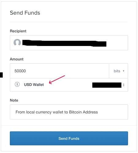 Coinbase guide, sell bitcoin