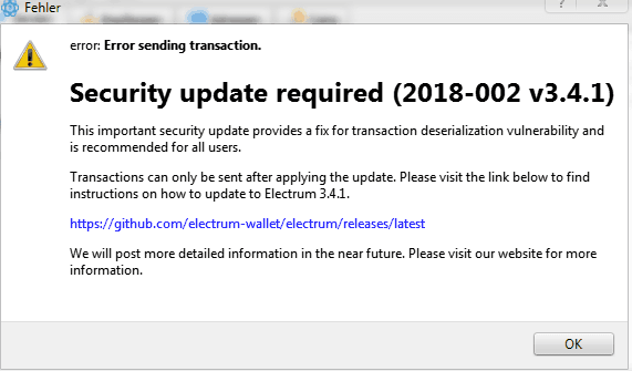 200+ Bitcoin Stolen From Electrum Wallet Users Via Hack