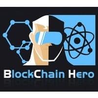 Blockchain hero logo