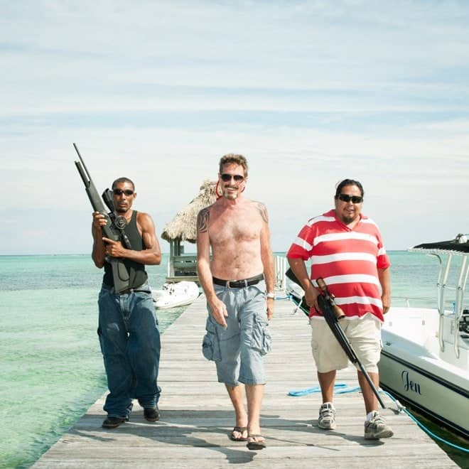 John McAfee: I Will Be Managing My Presidential Campaign From a Boat
