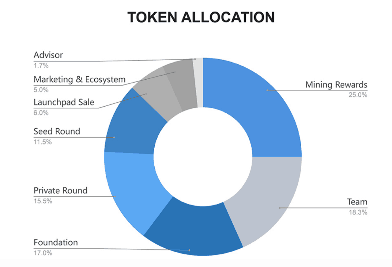 Celer Token Allocation