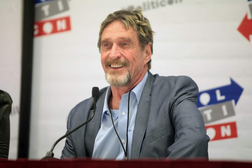John McAfee: Bitcoin Price to Reach $50K in the Mid-Term and $1 Million by End of 2020