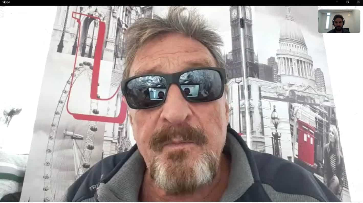 John McAfee To Defend Jeffrey Epstein: No Evidence Showing He Committed Suicide