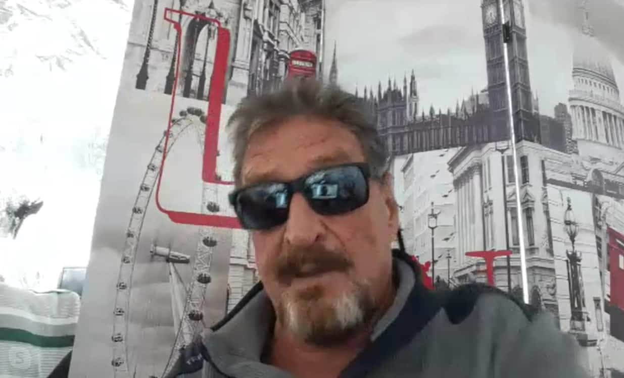 Stop HODLing, Start Spending Your Bitcoin: John McAfee on His $1 Million Prediction, Altcoins and His DEX (Exclusive Interview)