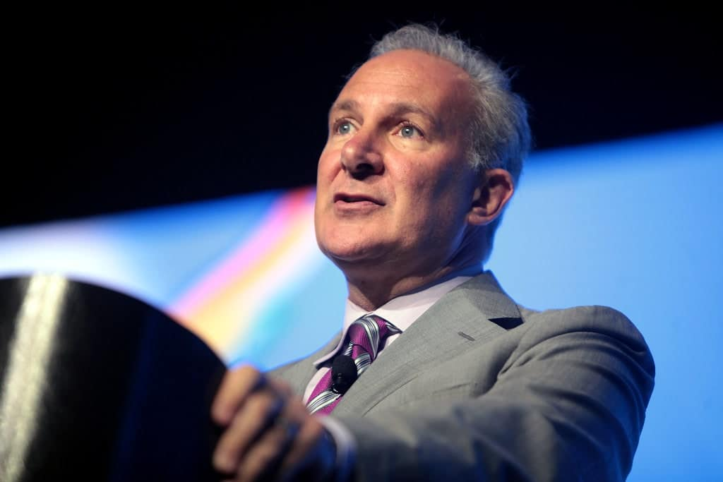 Peter Schiff: Bitcoin Is Not Money But Yes, It Can Rise