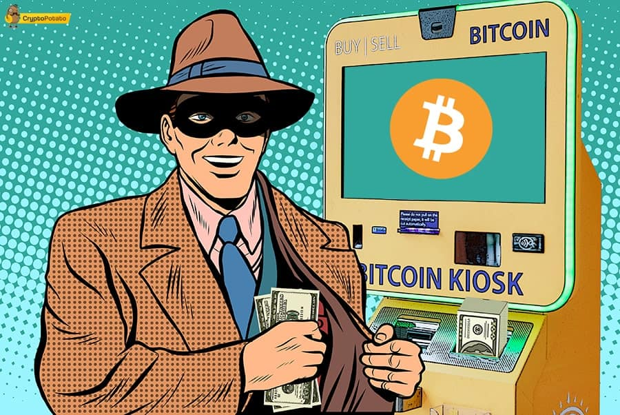 Bitcoin ATM Robbed: Thieves Forgot The Most Importnat Thing