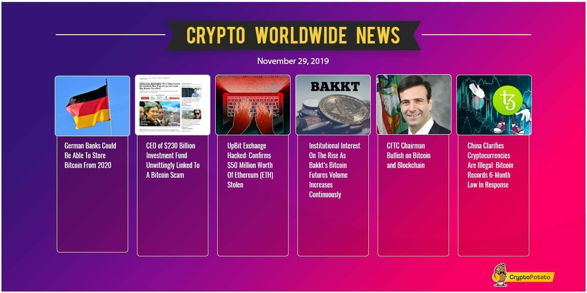 November Ending in Red As Bitcoin Is Down $1500: Crypto Weekly Market Update