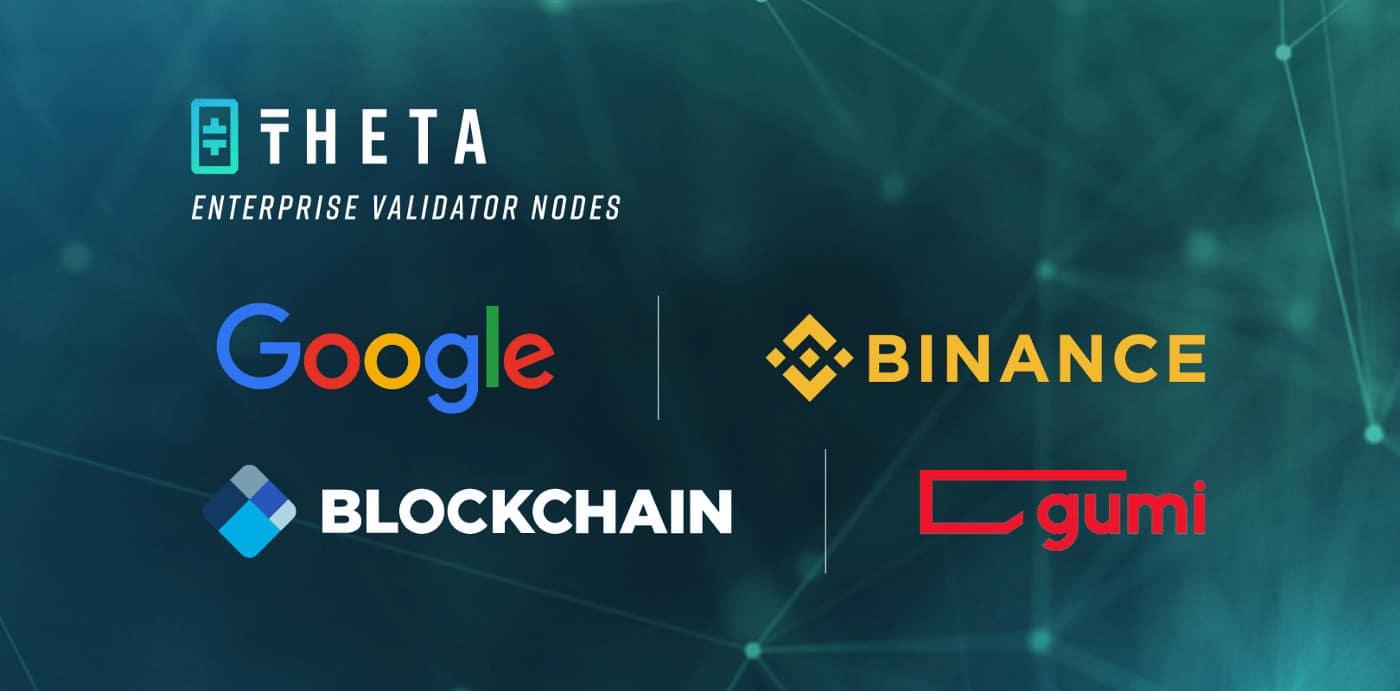 Theta/Google/Binance: Source; Theta