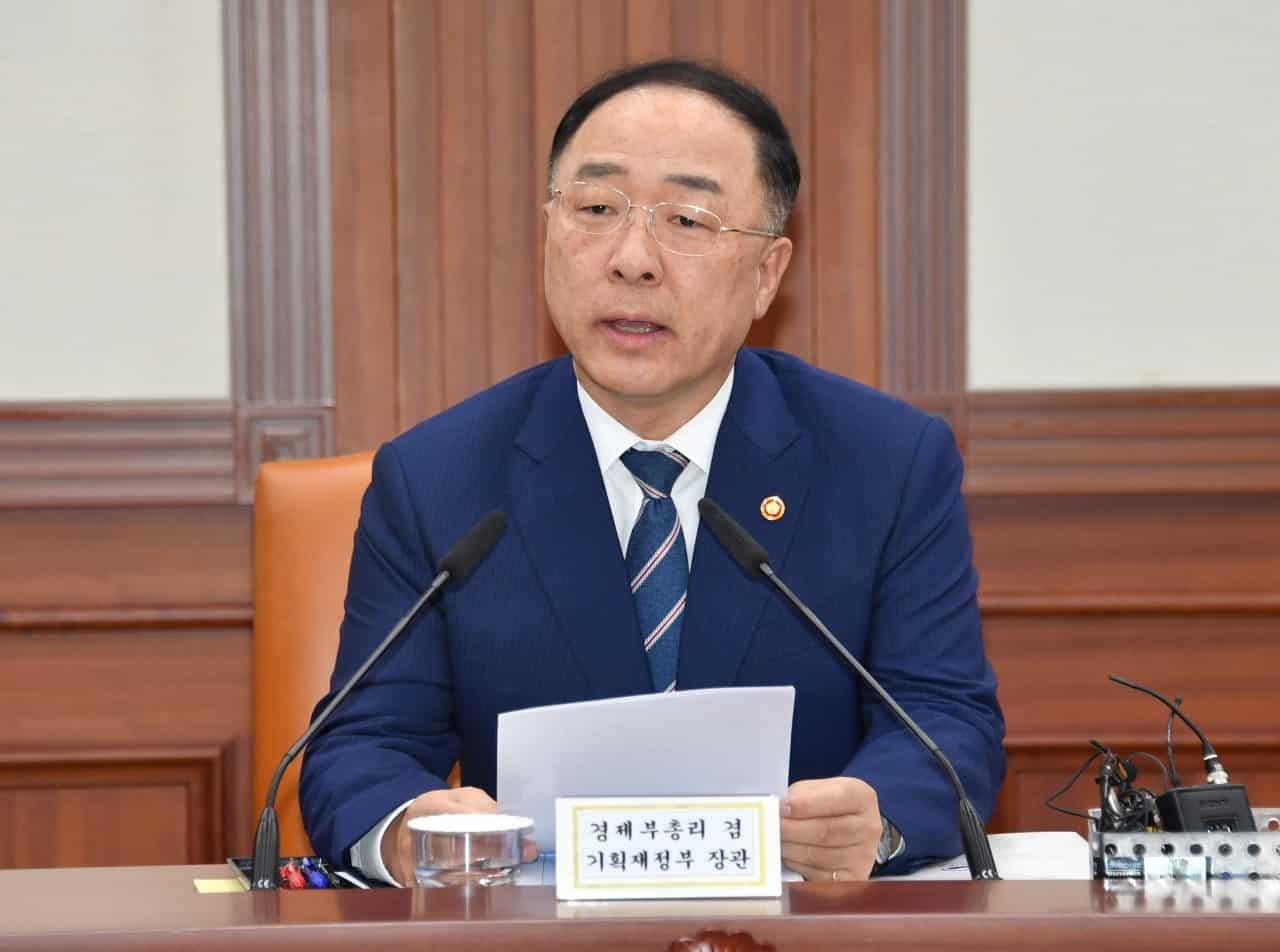 Hong Nam-ki South Korea's Minister Of Economy And Finance. Source KoreaHerald