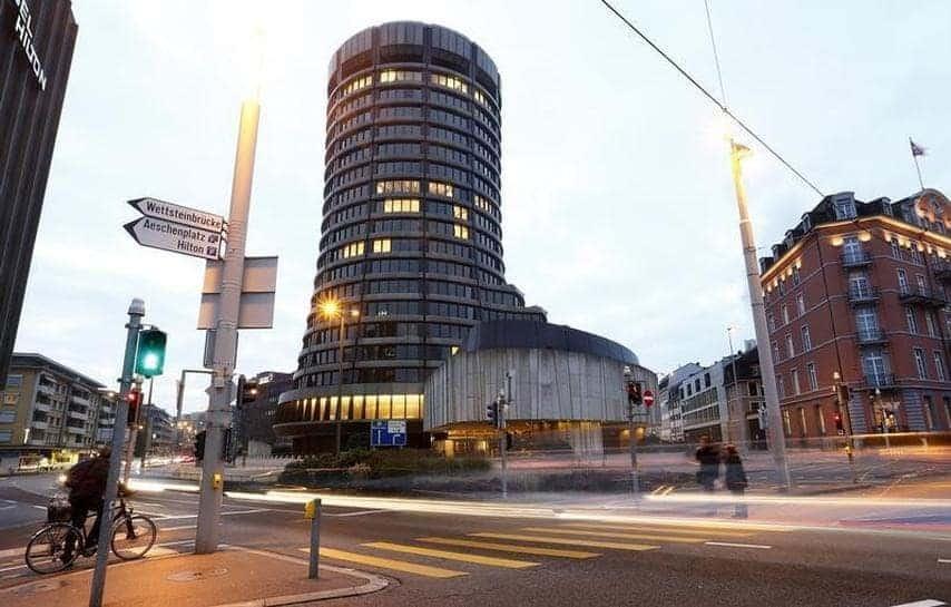 BIS building: Source: Reuters