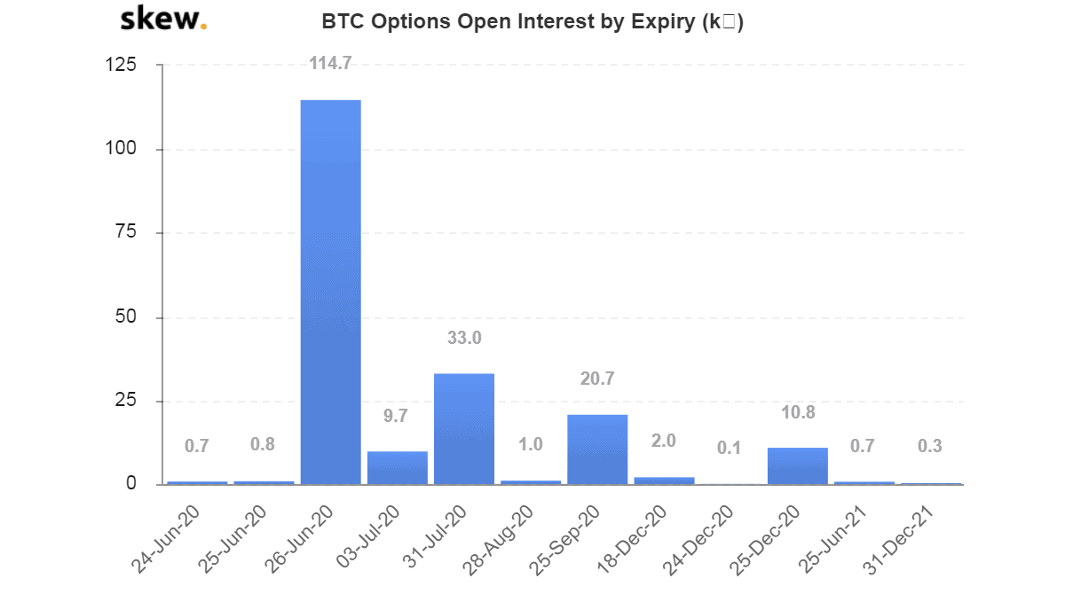 Bitcoin Options Contracts. Source: Skew