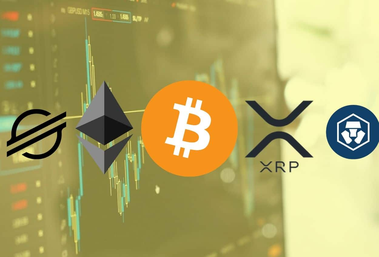 Crypto Price Analysis & Overview June 19th: Bitcoin, Ethereum, Ripple, Crypto.com, and Stellar