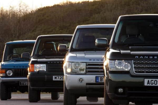 Range Rover Models. Source: LandyOnline