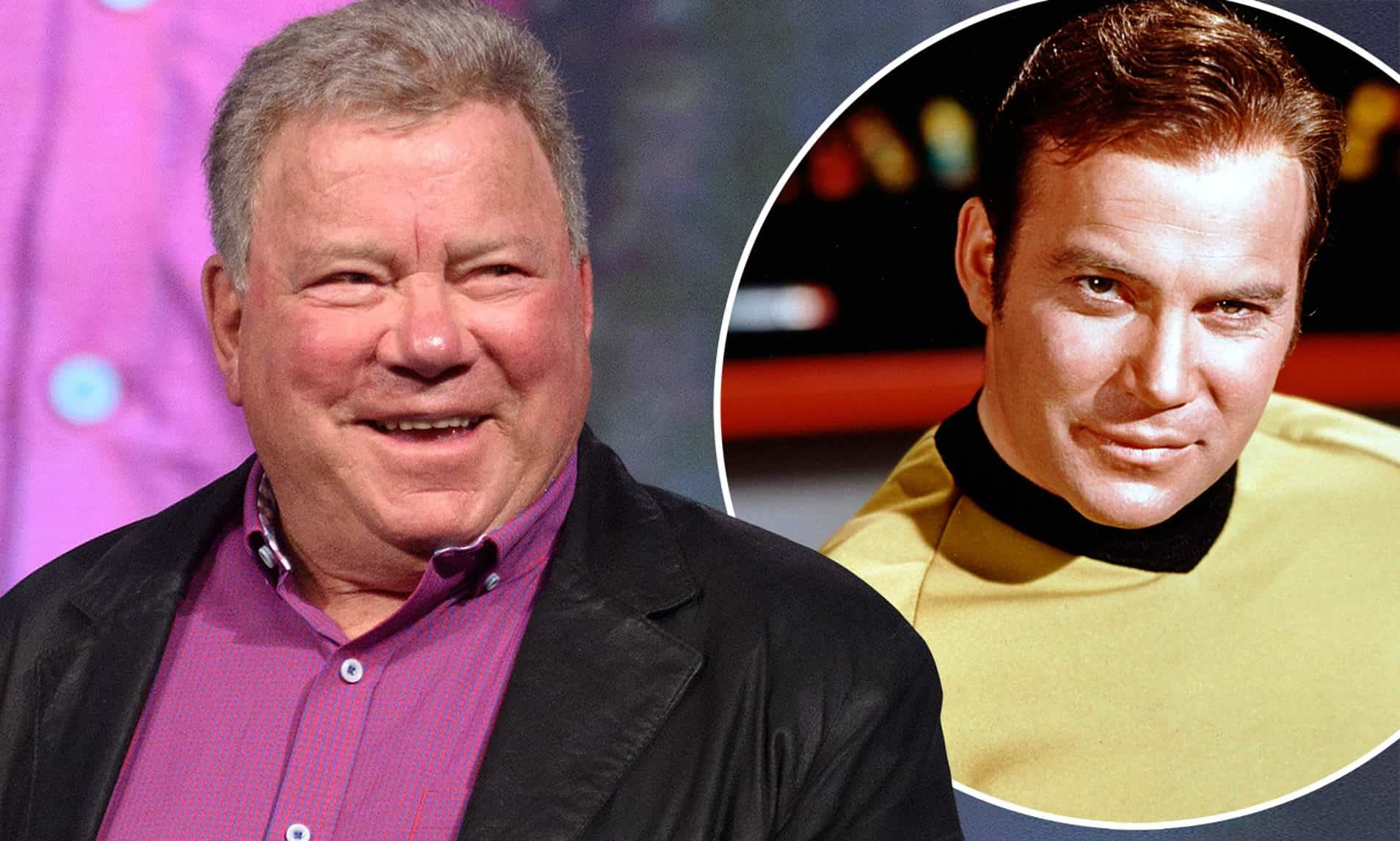 William Shatner (and his role as Captain Kirk). Source: Daily Mail