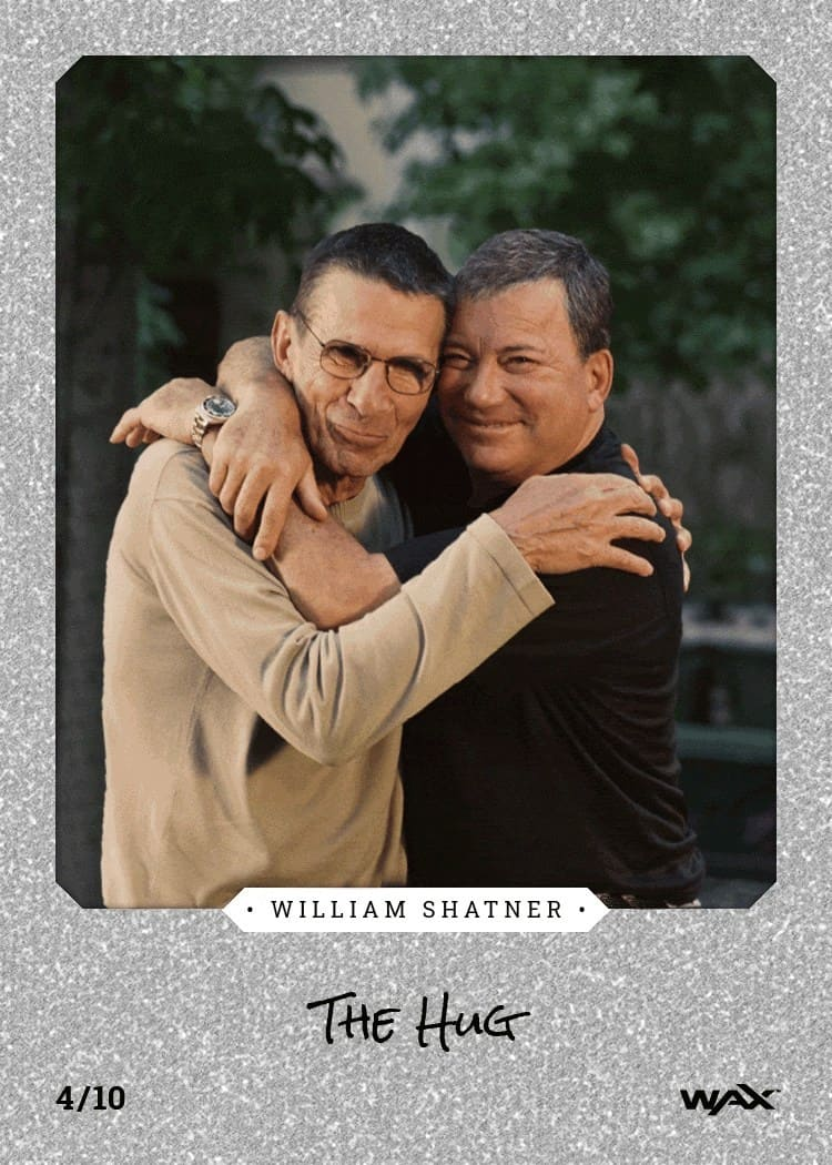 Blockchain-based William Shatner Trading Card. Source: Prnewswire