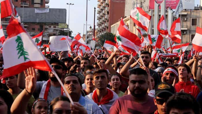 Lebanon Protests. Source: TheFinancialTimes