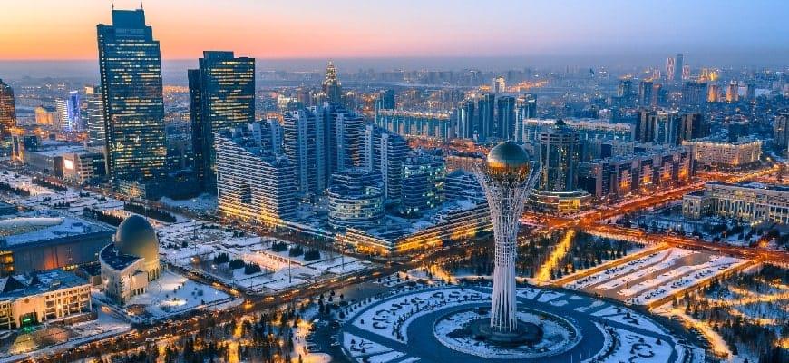 Kazakhstan's Capital-Nur Sultan (formerly known as Astana). Source: AstanaTimes