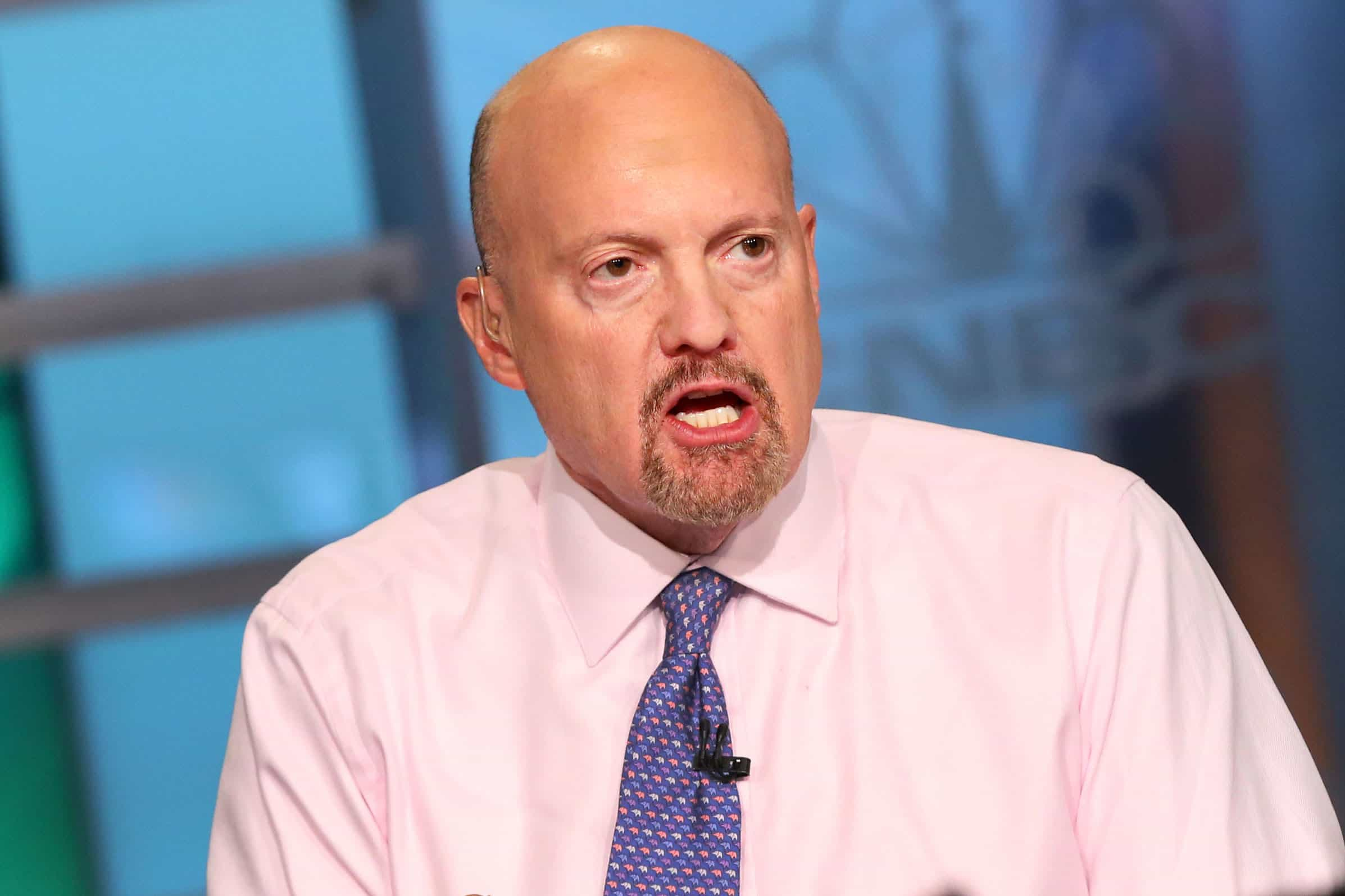 Mad Money Host Jim Cramer. Source: CNBC