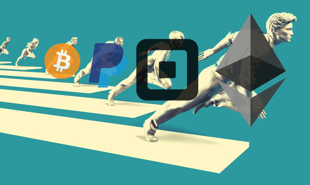 BitcoinEthereumSquarePayPal