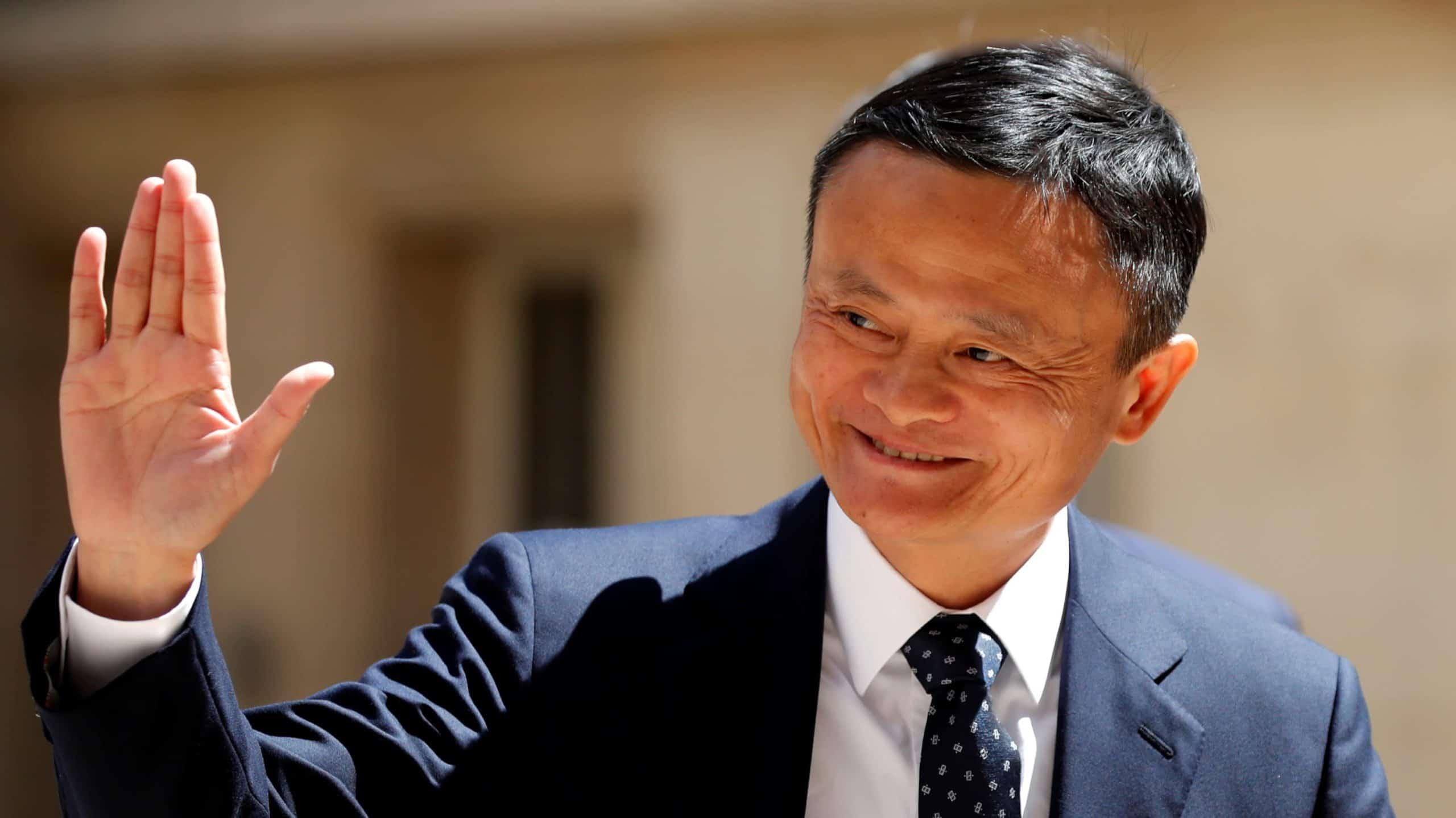 Jack Ma. Source: Nikkei