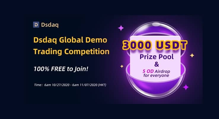 Crypto Collateral Exchange Dsdaq Hosts Global Demo Trading Competition