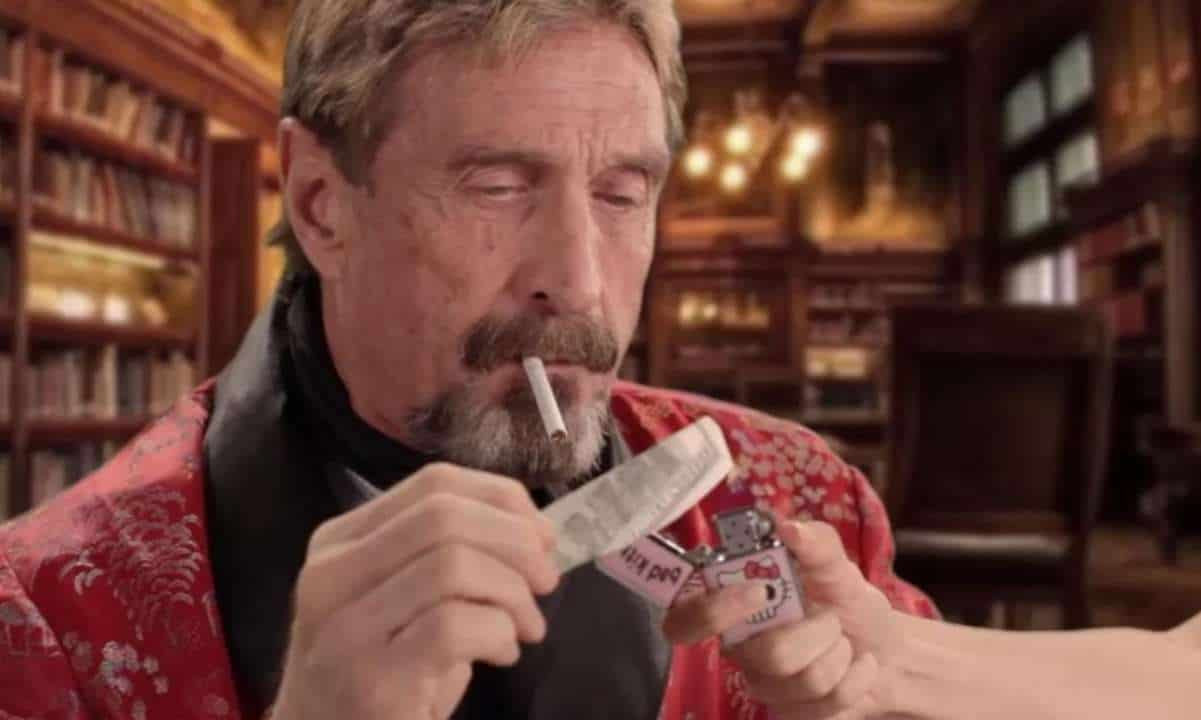 John McAfee Following the DOJ Indictment: The Allegations Are Overblown