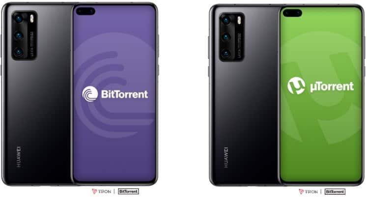 Huawei Smartphones And BitTorrent Integration