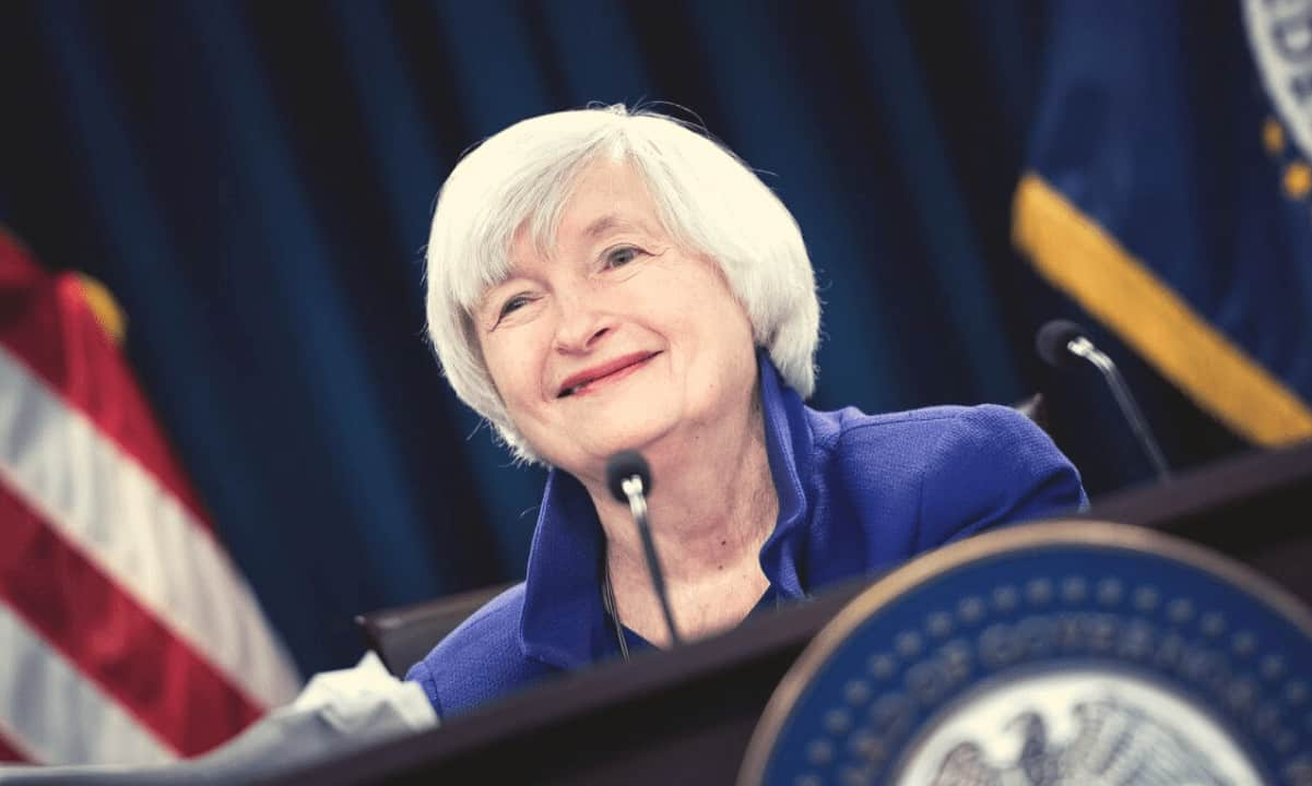 US Secretary of Treasure Yellen Says Bitcoin is Inefficient for Transactions