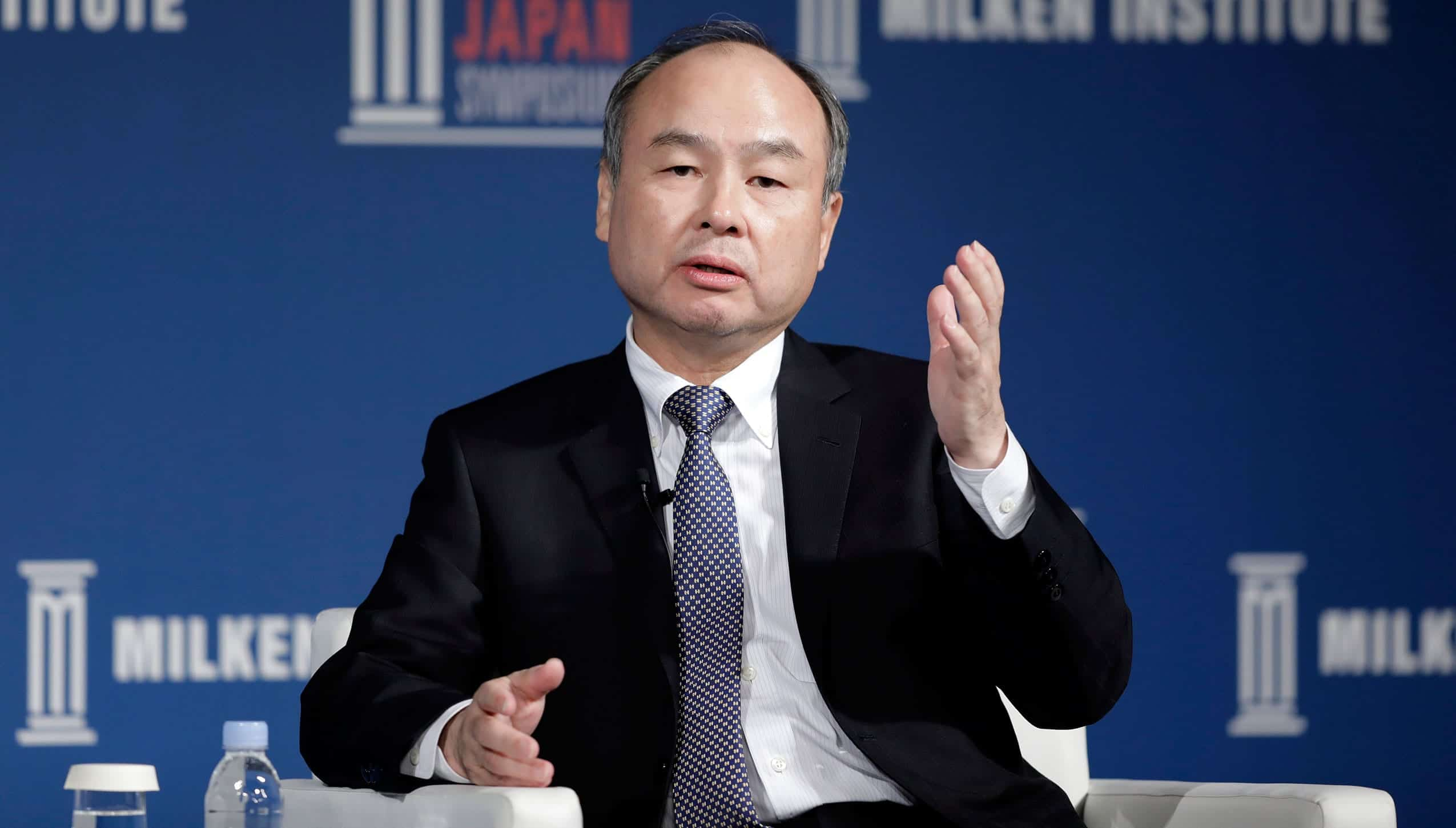 Masayoshi Son. Source: Fortune