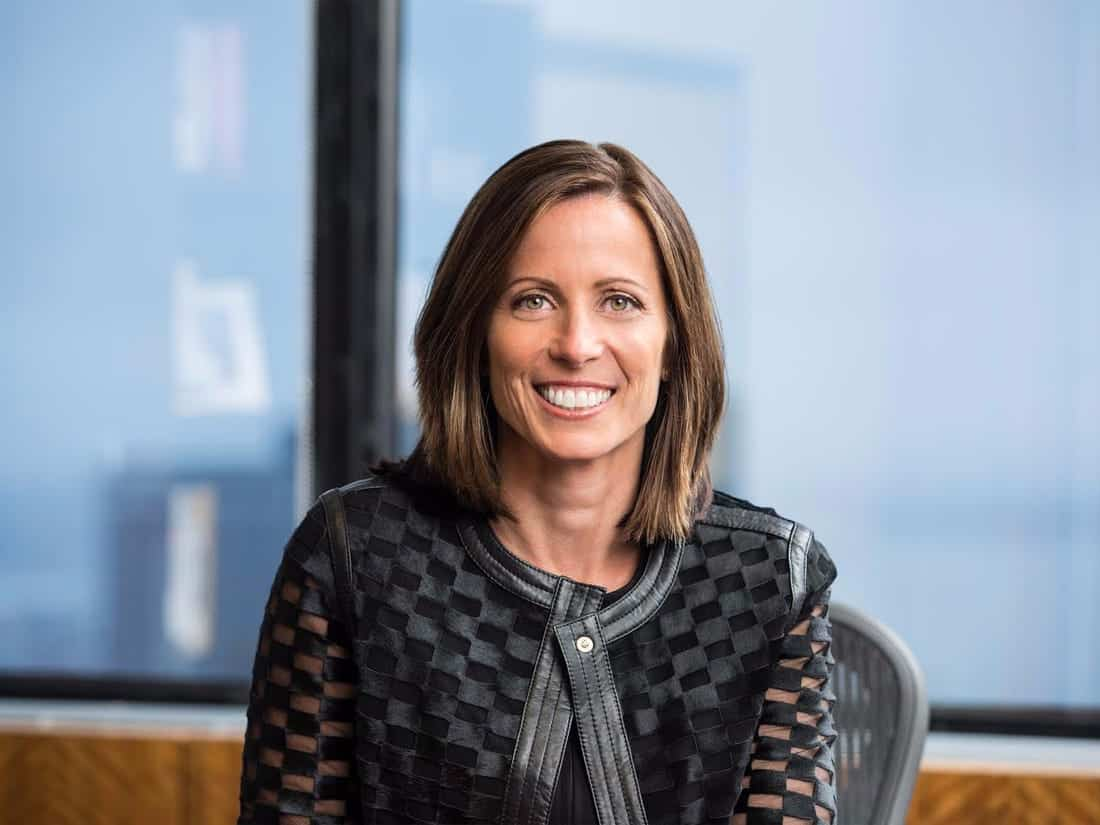 Nasdaq CEO Adena Friedman. Source: BusinessInsider