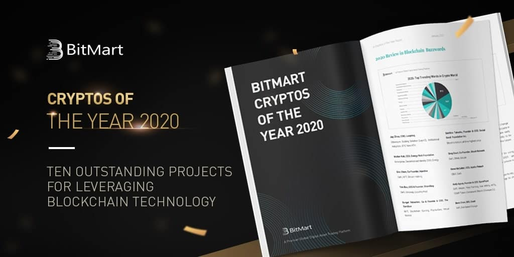 BitMart Published Cryptos of the Year Report on Top 10 Altcoins For 2021