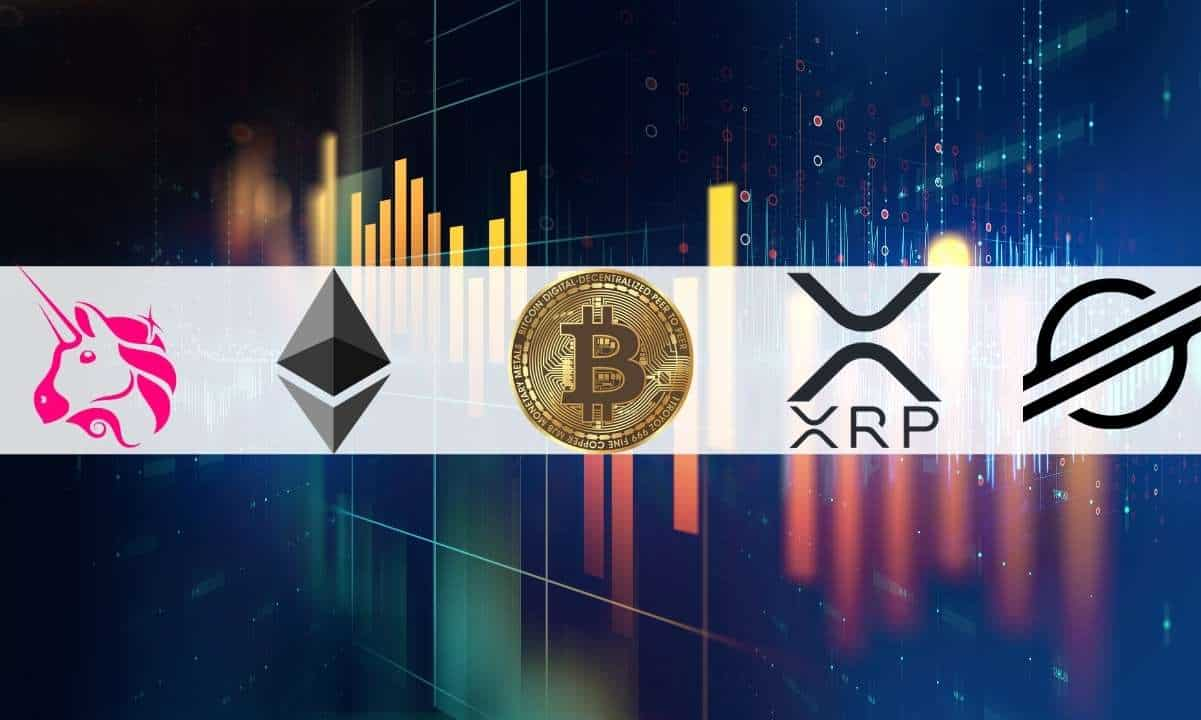 Crypto Price Analysis & Overview January 29th: Bitcoin, Ethereum, Ripple, Stellar, and Uniswap