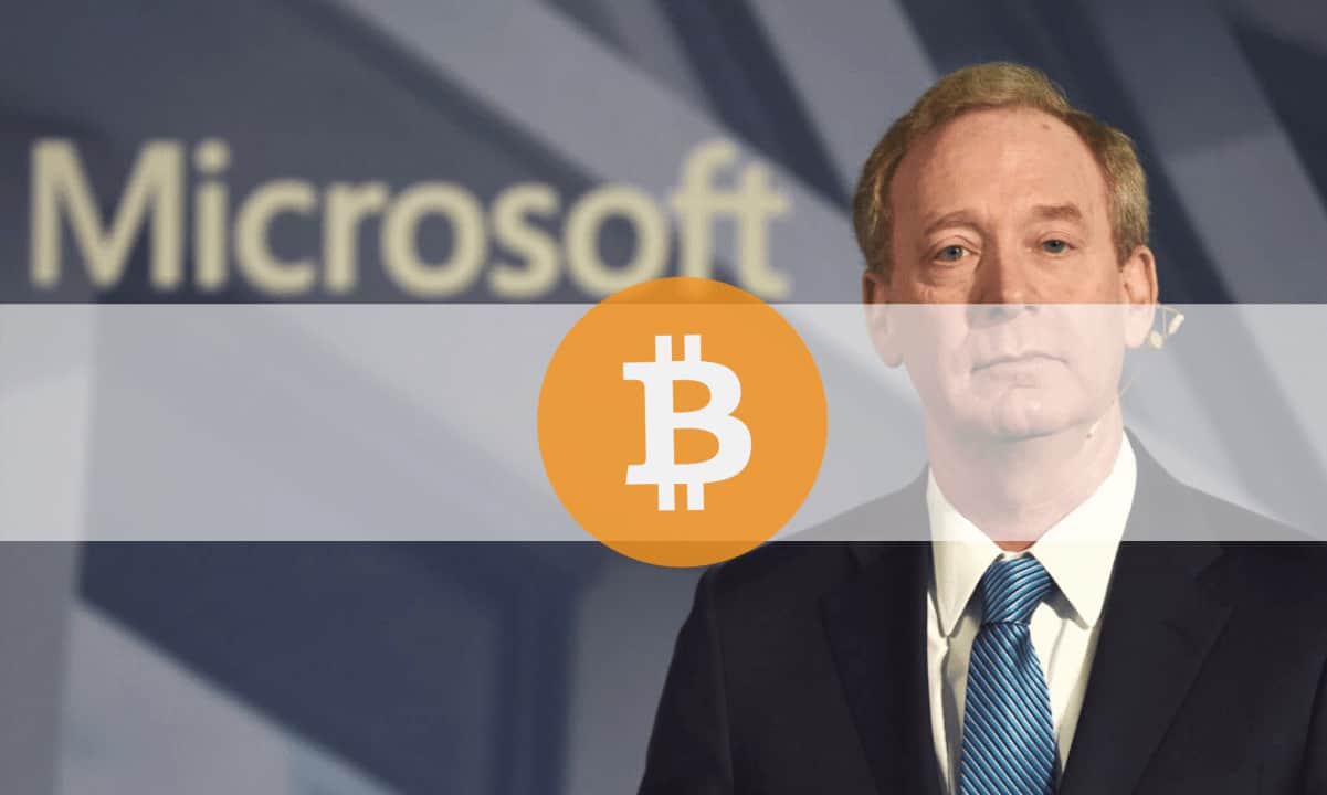 Microsoft Has No Plans to Buy Bitcoin at This Point, Company President Says