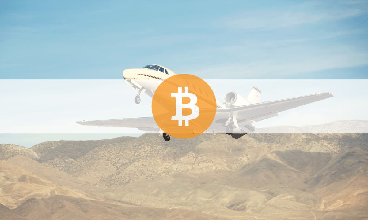 Bitcoin Payments Make 20% of the Revenue of a UK Private Jet Company