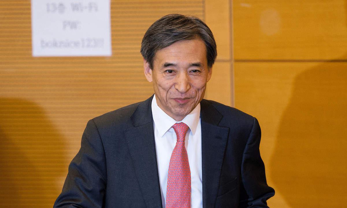Bank of Korea Head Says Cryptocurrencies Have No Intrinsic Value