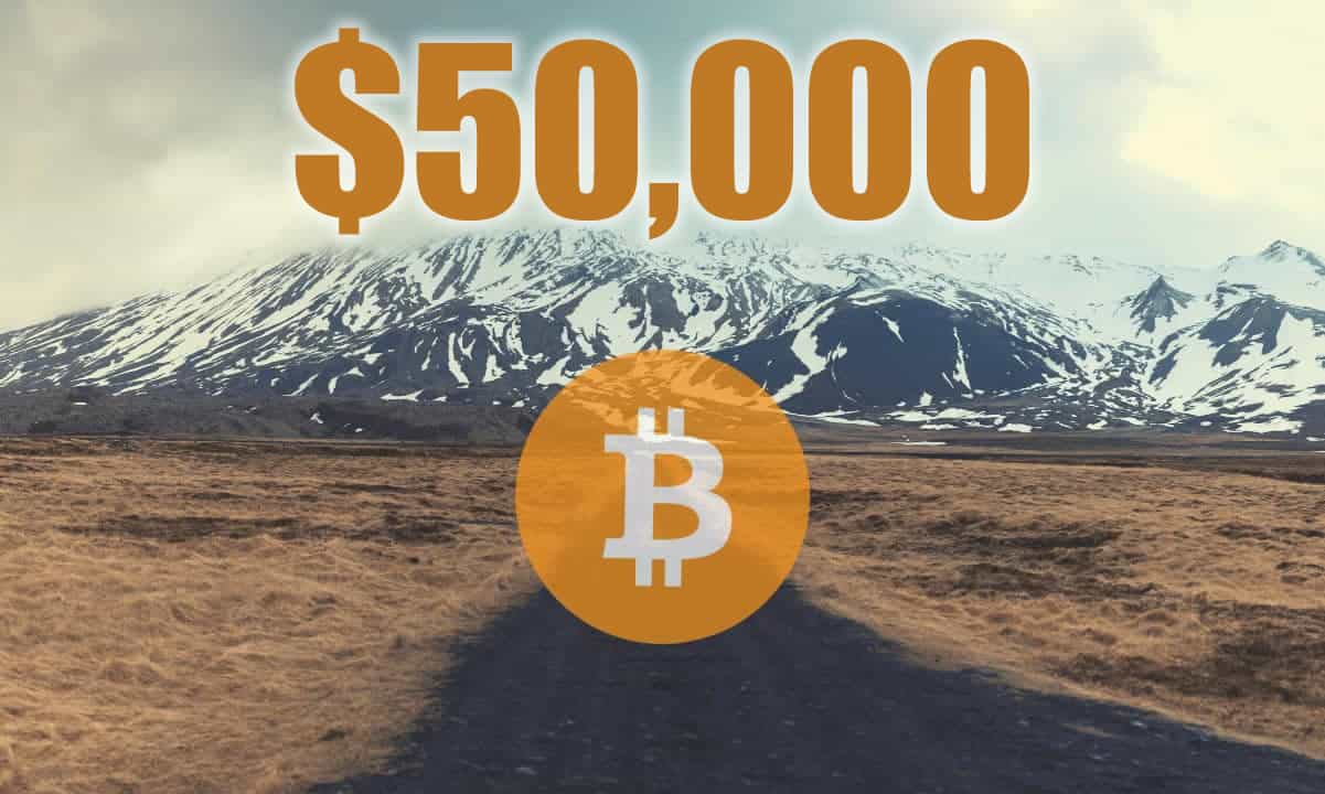 Bitcoin Bounces Off $50,000 as Milestone Price is Finally Hit