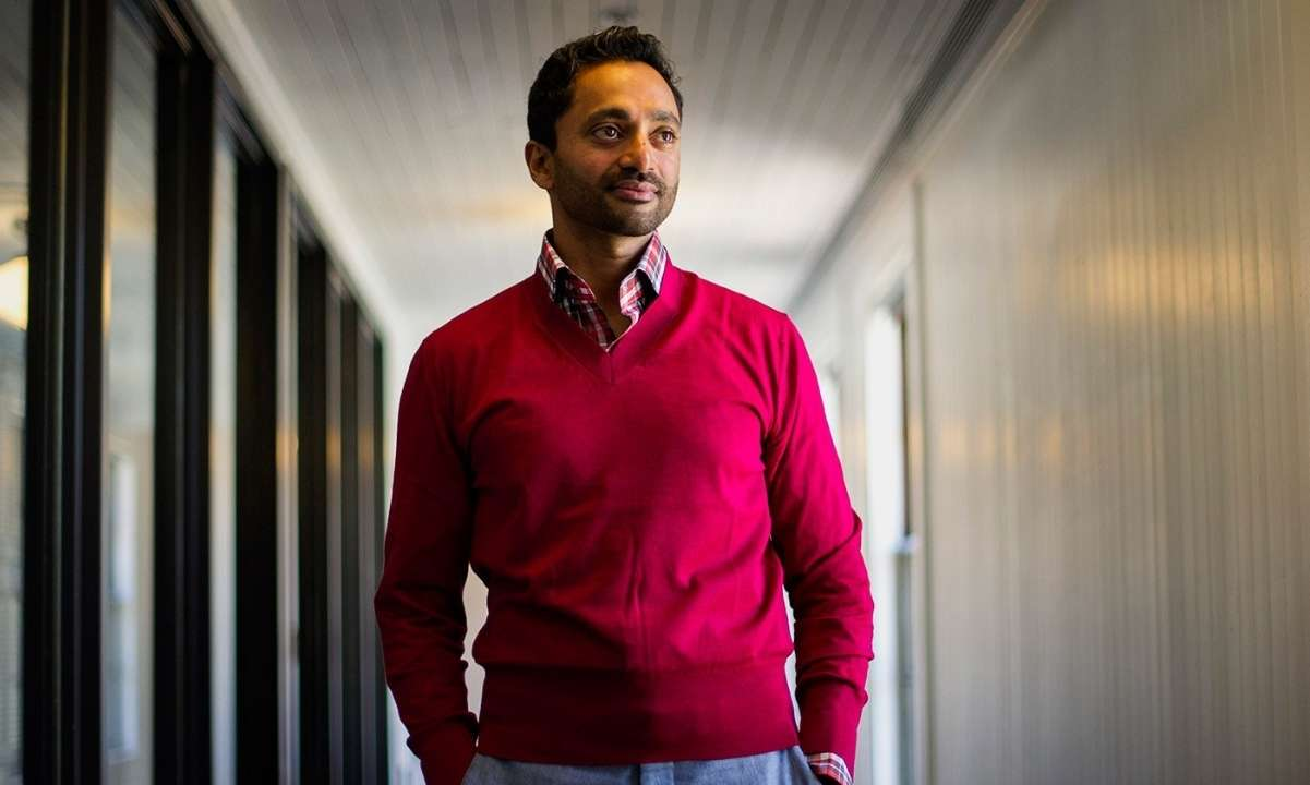 Bitcoin Bull Chamath Palihapitiya Will Not Run For California Governor