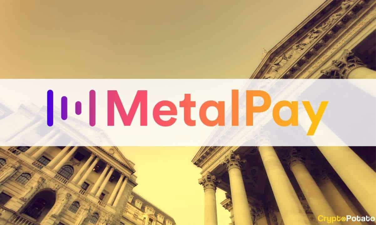 Crypto Platform Metal Pay Applies for National Bank Charter From the OCC