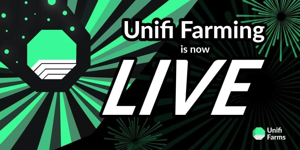 Unifi Farms Beta Launches on Unifi Protocol to Pioneer No-Stake Farming