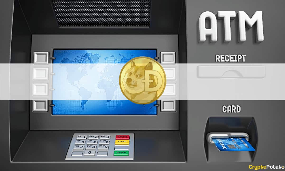 Americans Can Now Buy Dogecoin from 1,800 Crypto ATMs Across the Country