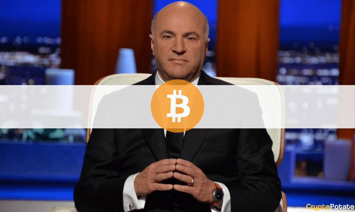 Change of Heart: Shark Tank's Kevin O'Leary Joins the Bitcoin Club With a 3% Allocation