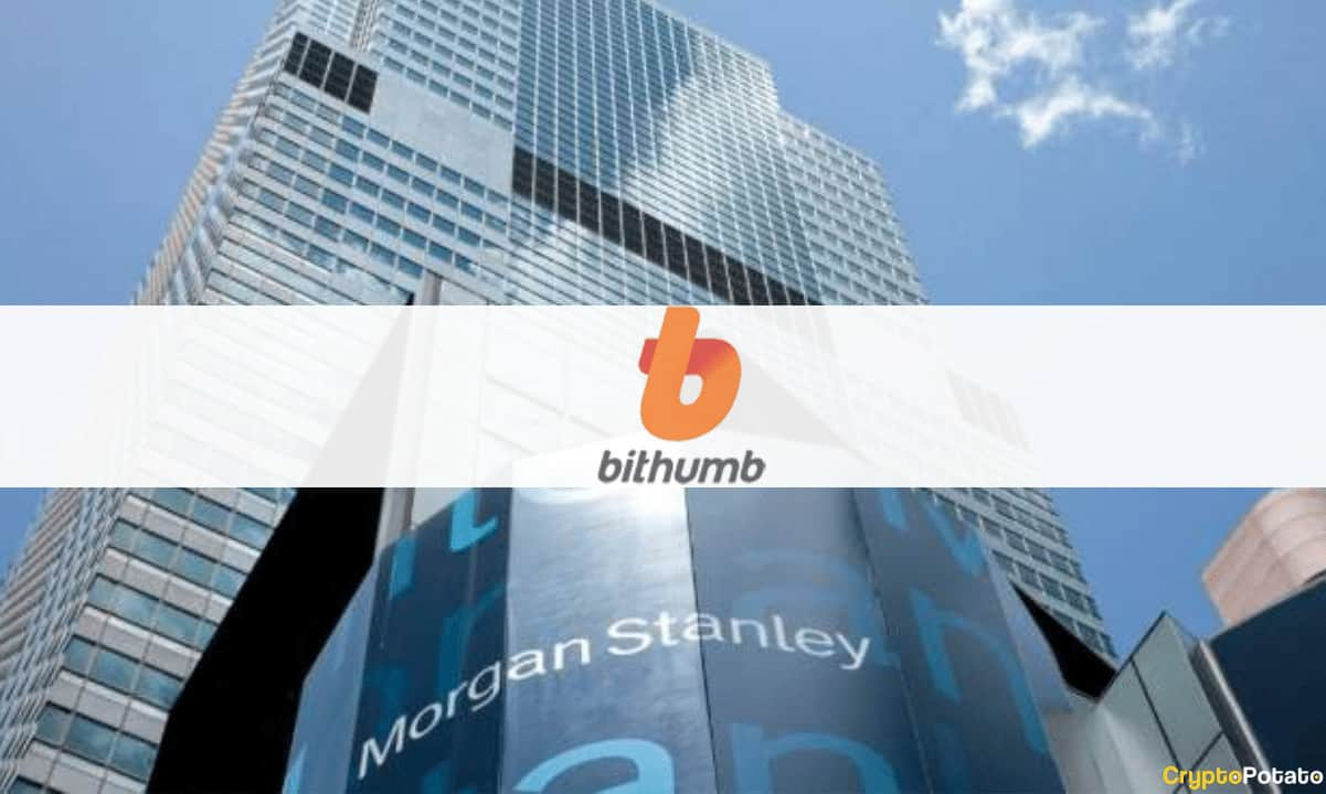 Morgan Stanley Reportedly Planning to Buy a $440M Stake in Crypto Exchange Bithumb