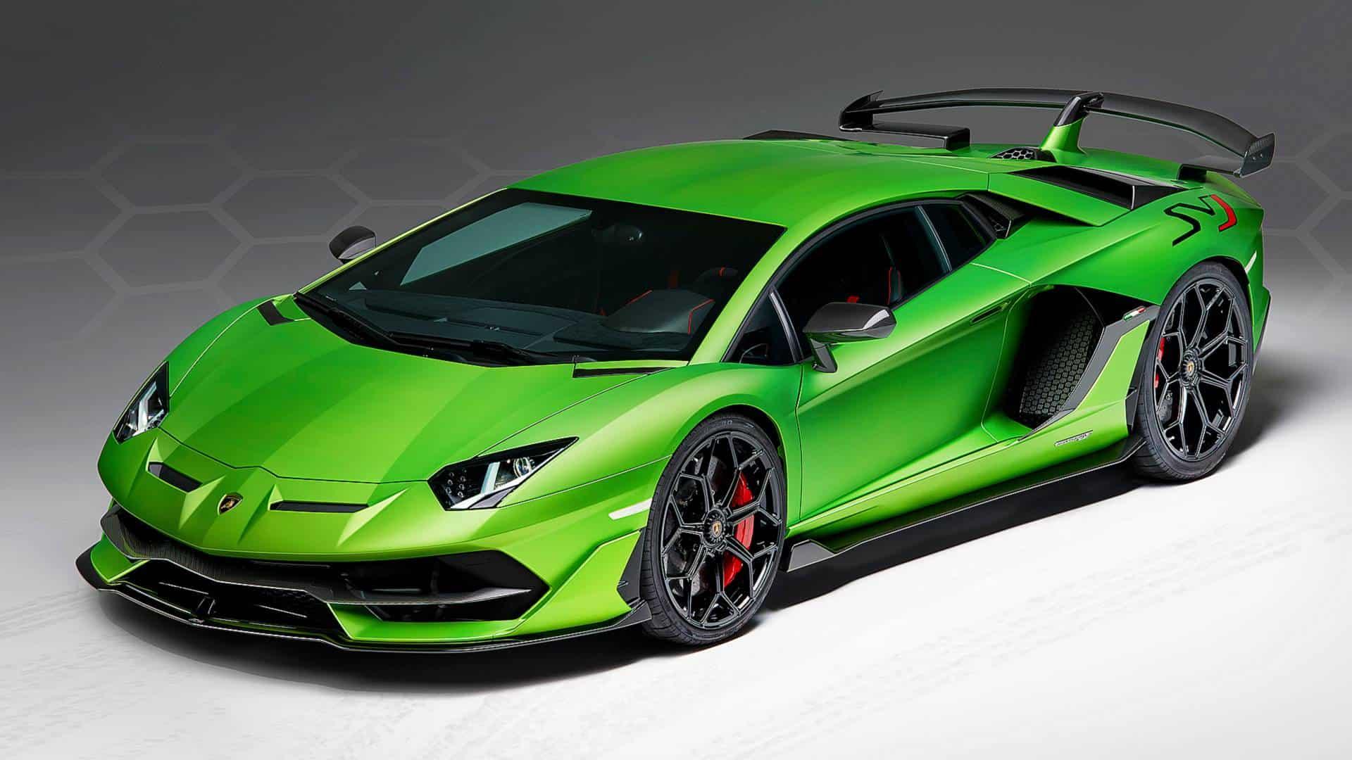 Lamborghini Aventador SVJ. Source: Nastarta