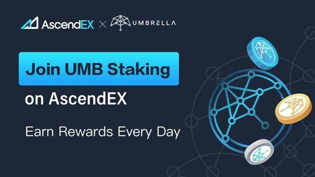 UMB Staking on AscendEX
