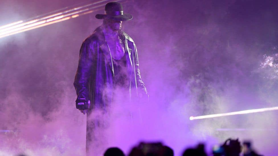 The Undertaker. Source: BBC